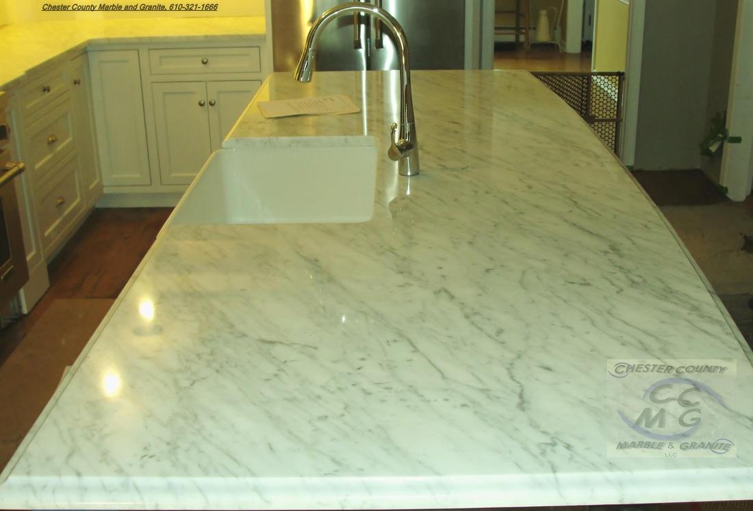 White Carrera Marble